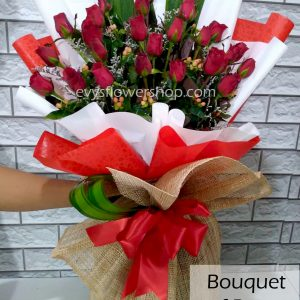 bouquet of roses 41, bouquet, flower delivery, flower delivery philippines