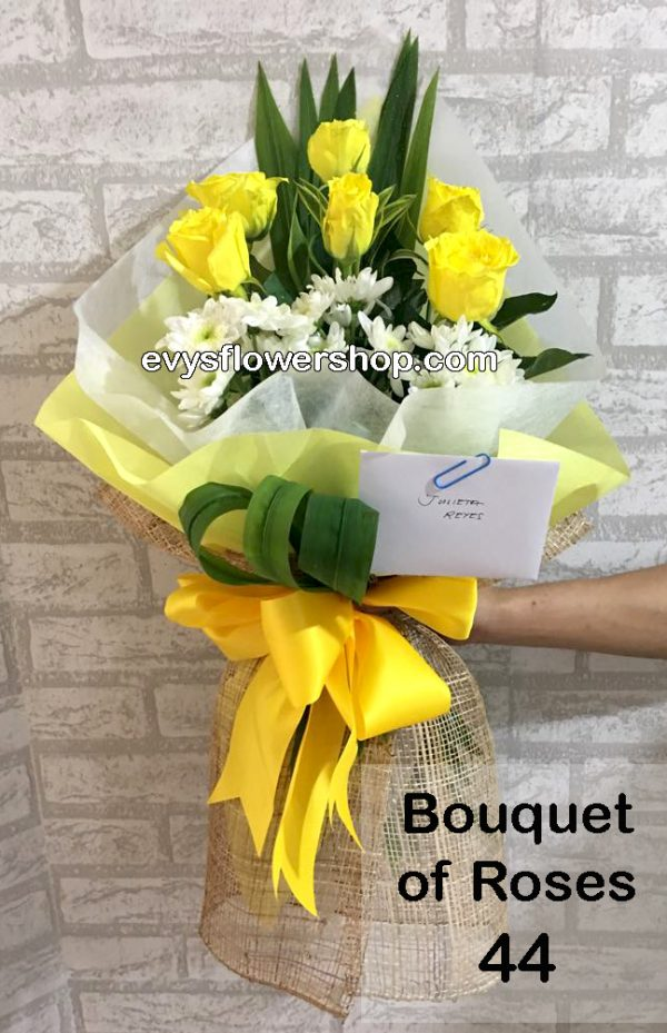 bouquet of roses 44, bouquet, bouquet of roses, roses, flower delivery, flower delivery philippines
