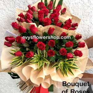 bouquet of roses 49, bouquet, bouquet of roses, roses, flower delivery, flower delivery philippines
