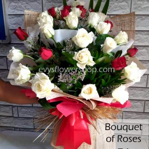 bouquet of roses 51, bouquet, flower delivery, flower delivery philippines