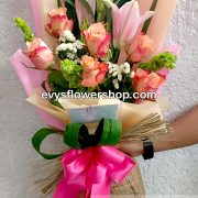 bouquet of stargazer 11, bouquet of stargazer, stargazer, bouquet, flower delivery, flower delivery philippines