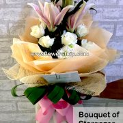 bouquet of stargazer 12, bouquet of stargazer, stargazer, bouquet, flower delivery, flower delivery philippines