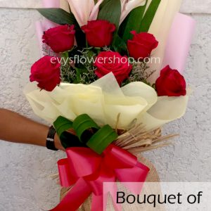 bouquet of stargazer 14, bouquet of stargazer, stargazer, bouquet, flower delivery, flower delivery philippines