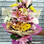 bouquet of stargazer 17, bouquet of stargazer, stargazer, bouquet, flower delivery, flower delivery philippines