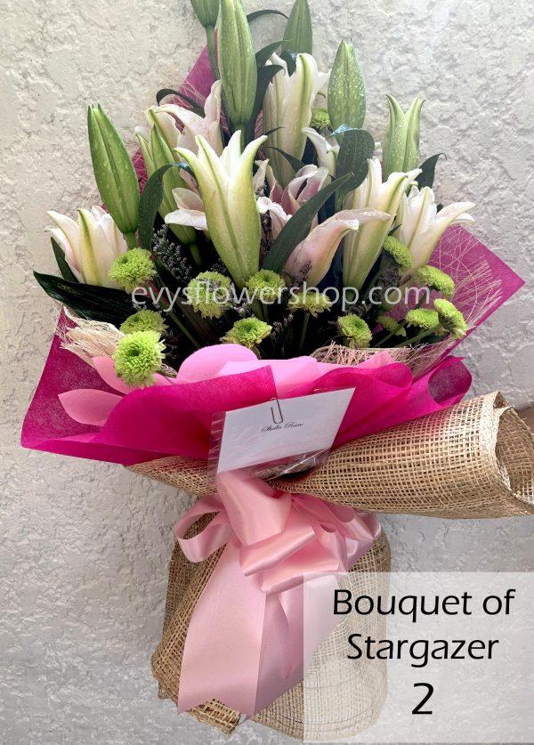 bouquet of stargazer 2, bouquet of stargazer, stargazer, bouquet, flower delivery, flower delivery philippines