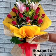 bouquet of stargazer 2, bouquet of stargazer, stargazer, bouquet, flower delivery, flower delivery philippines