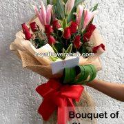 bouquet of stargazer 3, bouquet of stargazer, stargazer, bouquet, flower delivery, flower delivery philippines