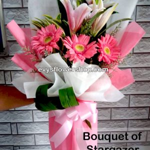 bouquet of stargazer 4, bouquet of stargazer, stargazer, bouquet, flower delivery, flower delivery philippines