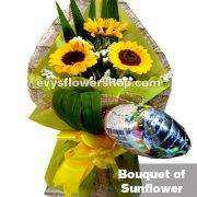 bouquet of sunflower 1, bouquet of sunflower, sunflower, bouquet, flower delivery, flower delivery philippines