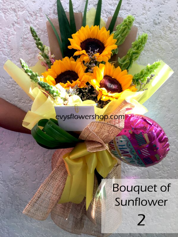 bouquet of sunflower 2, bouquet of sunflower, sunflower, bouquet, flower delivery, flower delivery philippines