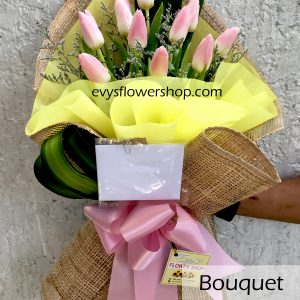 bouquet of tulips 1, bouquet of tulips, tulips, bouquet, flower delivery, flower delivery philippines