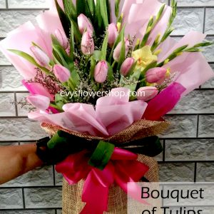 bouquet of tulips 9, bouquet of tulips, tulips, bouquet, flower delivery, flower delivery philippines