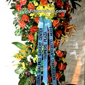 inaugural flower stand 15, inaugural flowers stand, inauguration, opening flowers stand, ribbon cutting flowers stand, flower delivery, flower delivery philippines