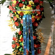 inaugural flower stand 16, inaugural flowers stand, inauguration, opening flowers stand, ribbon cutting flowers stand, flower delivery, flower delivery philippines