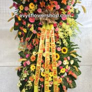inaugural flower stand 17, inaugural flowers stand, inauguration, opening flowers stand, ribbon cutting flowers stand, flower delivery, flower delivery philippines