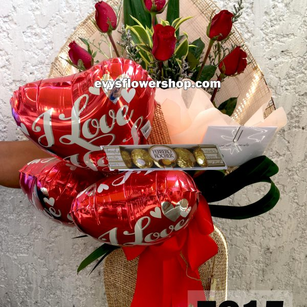 FC15, bouquet of roses, combo, package, bouquet, flower delivery, flower delivery philippines
