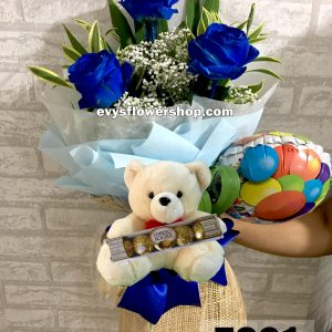 FC21, bouquet of ecuadorian roses, combo, package, bouquet, flower delivery, flower delivery philippines