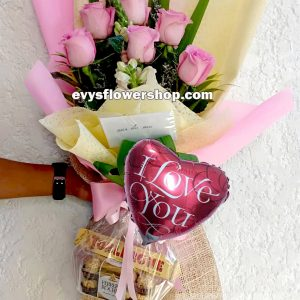 FC25, bouquet of imported roses, combo, package, bouquet, flower delivery, flower delivery philippines