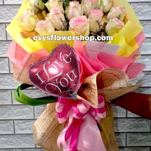 FC31, bouquet of ecuadorian roses, combo, package, bouquet, flower delivery, flower delivery philippines