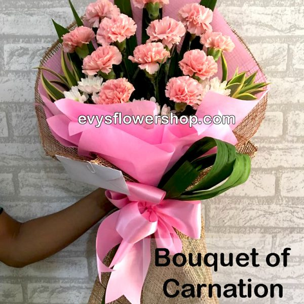 bouquet of carnation 13, bouquet of carnation, carnation, bouquet, flower delivery, flower delivery philippines