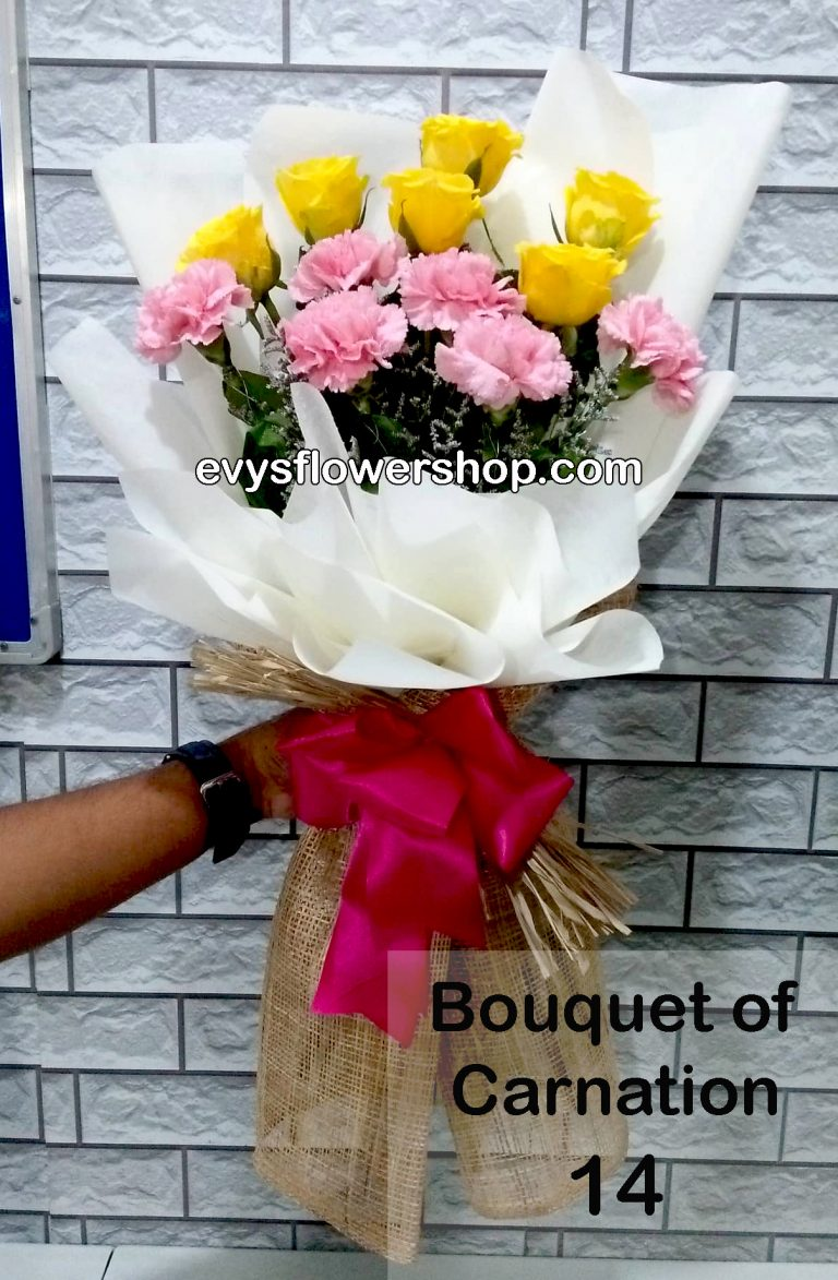 bouquet of carnation 14, bouquet of carnation, carnation, bouquet, flower delivery, flower delivery philippines
