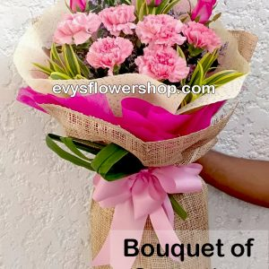 bouquet of carnation 15, bouquet of carnation, carnation, bouquet, flower delivery, flower delivery philippines
