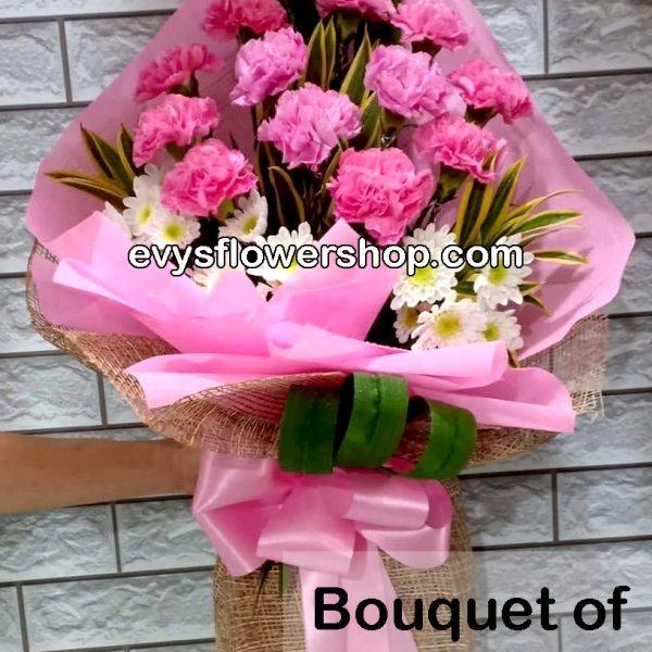 bouquet of carnation 16, bouquet of carnation, carnation, bouquet, flower delivery, flower delivery philippines