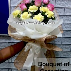 bouquet of carnation 17, bouquet of carnation, carnation, bouquet, flower delivery, flower delivery philippines