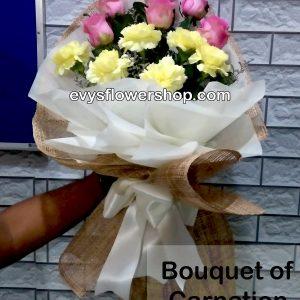 bouquet of carnation 17, bouquet of carnation, carnation, bouquet, flower delivery, flower delivery philippines