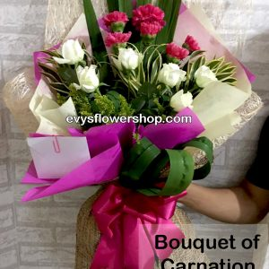 bouquet of carnation 7, bouquet of carnation, carnation, bouquet, flower delivery, flower delivery philippines