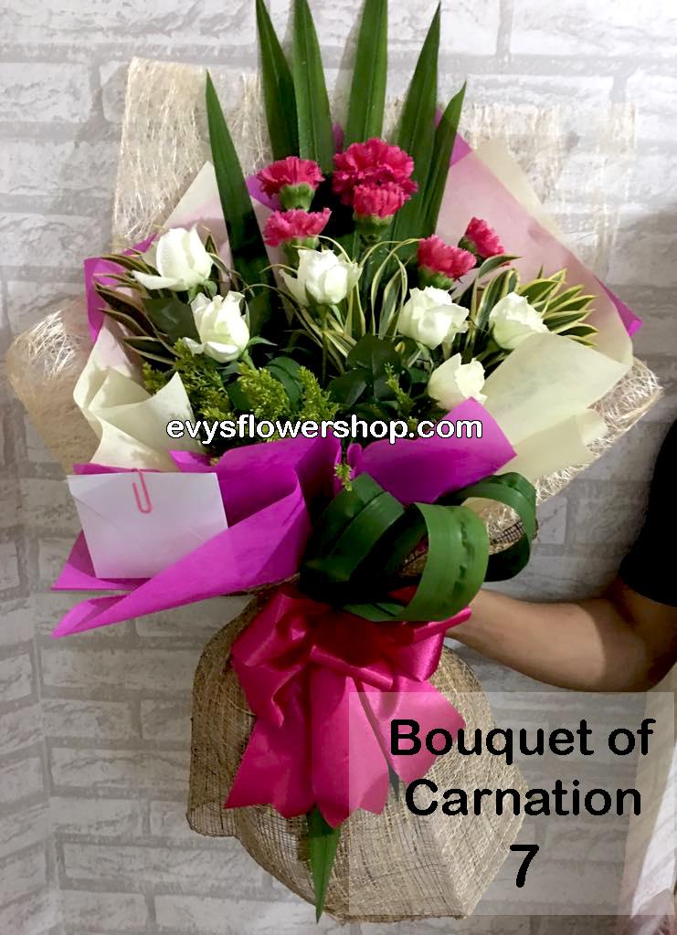 bouquet of carnation 7, bouquet of carnation, carnation, bouquet, flower delivery, flower delivery philippines