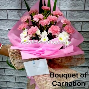 bouquet of carnation 8, bouquet of carnation, carnation, bouquet, flower delivery, flower delivery philippines