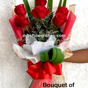 bouquet of ecuadorian roses 16, bouquet of ecuadorian roses, ecuadorian roses, bouquet, flower delivery, flower delivery philippines