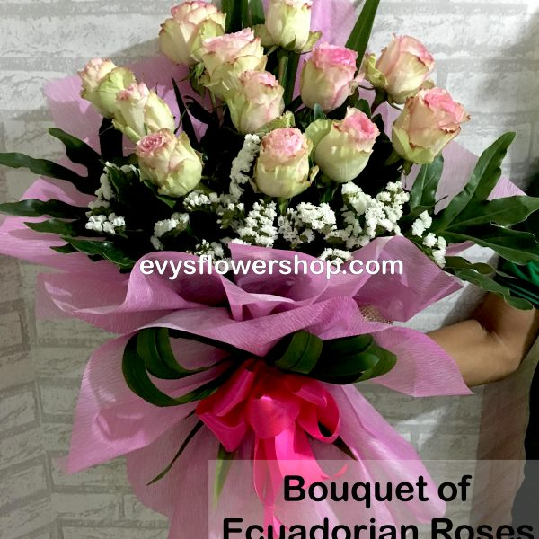 bouquet of ecuadorian roses 17, bouquet of ecuadorian roses, ecuadorian roses, bouquet, flower delivery, flower delivery philippines