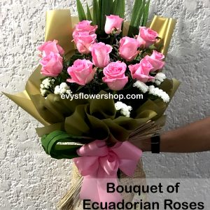 bouquet of ecuadorian roses 19, bouquet of ecuadorian roses, ecuadorian roses, bouquet, flower delivery, flower delivery philippines