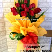 bouquet of ecuadorian roses 21, bouquet of ecuadorian roses, ecuadorian roses, bouquet, flower delivery, flower delivery philippines