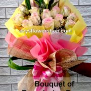 bouquet of ecuadorian roses 28, bouquet of ecuadorian roses, ecuadorian roses, bouquet, flower delivery, flower delivery philippines