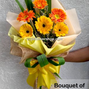 bouquet of gerbera 11, bouquet of gerbera, gerbera, bouquet, flower delivery, flower delivery philippines