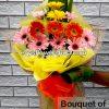 bouquet of gerbera 12, bouquet of gerbera, gerbera, bouquet, flower delivery, flower delivery philippines
