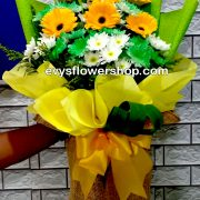 bouquet of gerbera 13, bouquet of gerbera, gerbera, bouquet, flower delivery, flower delivery philippines