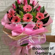 bouquet of gerbera 14, bouquet of gerbera, gerbera, bouquet, flower delivery, flower delivery philippines