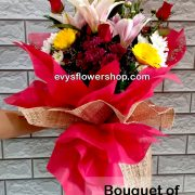 bouquet of mixed flowers 34, bouquet of mixed flowers, spring flowers, bouquet, flower delivery, flower delivery philippines