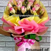 bouquet of stargazer 21, bouquet of stargazer, stargazer, bouquet, flower delivery, flower delivery philippines