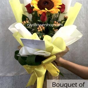bouquet of sunflower 5, bouquet of sunflower, sunflower, bouquet, flower delivery, flower delivery philippines