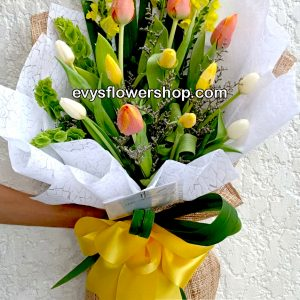 bouquet of tulips 12, bouquet of tulips, tulips, bouquet, flower delivery, flower delivery philippines