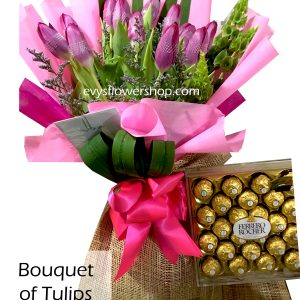 bouquet of tulips 14, bouquet of tulips, tulips, bouquet, flower delivery, flower delivery philippines