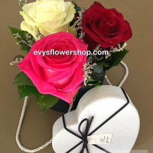 box 11, box of flowers, gift box, flower delivery, flower delivery philippines
