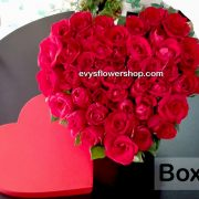 box 13, box of flowers, gift box, flower delivery, flower delivery philippines