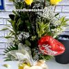V15, vase of imported roses, imported roses, vase arrangement, vase, vase of flowers, flower delivery, flower delivery philippines