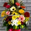 V17, vase of mixed flowers, spring flowers, vase arrangement, vase, vase of flowers, flower delivery, flower delivery philippines